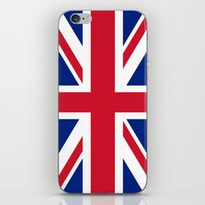 UK FLAG - The Union Jack Authentic color and 3:5 scale  iPhone & iPod Skin