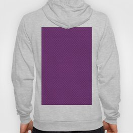 Purple Scales Pattern Hoody