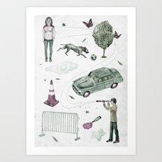 Invention  Art Print