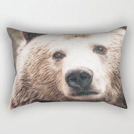 Jealous Bear Rectangular Pillow