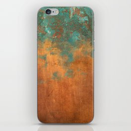 Green conquers all iPhone Skin