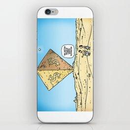 Pyramid of Wealth iPhone Skin
