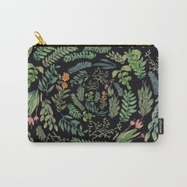 circular garden at nigth Carry-All Pouch