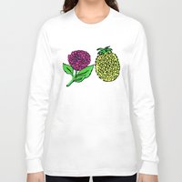 portugal Long Sleeve T-shirts featuring Azores, Portugal by Golden Heart