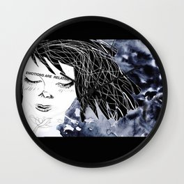Emotions are relative Wall Clock
