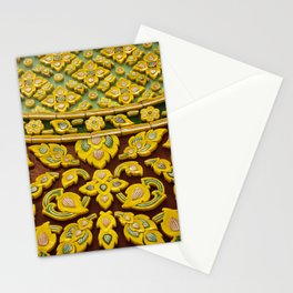 flower statue in Thai style Stationery Cards