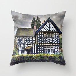 Tudor Home Throw Pillow