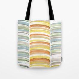 Earth color strokes Tote Bag