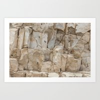 Arizona rock texture Art Print