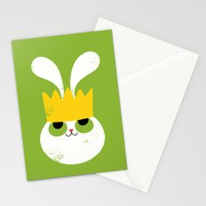 Rabbit King Stationery Cards