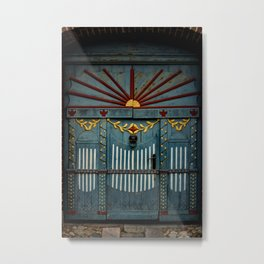 The Gate to Valhalla Metal Print