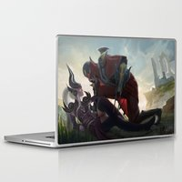 league of legends Laptop & iPad Skins featuring League of Legends by KatharinaBrand