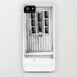 Greek Doorway iPhone Case