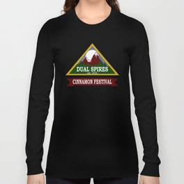 Psych - Dual Spires Cinnamon Festival Long Sleeve T-shirt