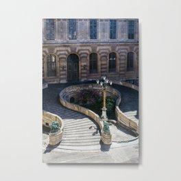 Louvre Staircase Metal Print