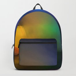 Rainbow Niagara Falls Waterfall (Color) Backpack