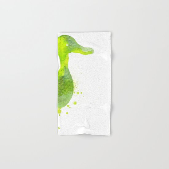 Duck Hand & Bath Towel