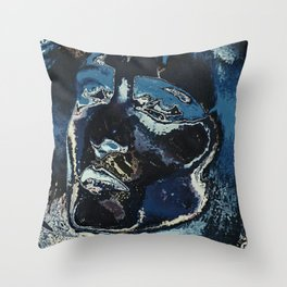 sioux destroyed Throw Pillow