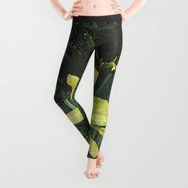 Yellow Lily DPGPA151014-14 Leggings
