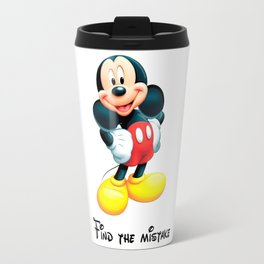 Find the mistake - Mickey Travel Mug