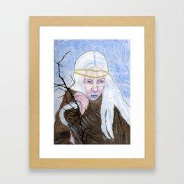 The Ice Queen Framed Art Print