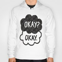tfios Hoodies featuring OKAY?OKAY THE FAULT IN OUR STARS TFIOS HAZEL AUGUSTUS CLOUDS by monalisacried