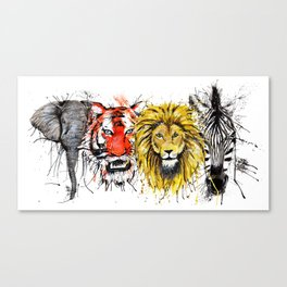 Animal Magic Canvas Print