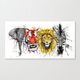 Animal Magic Canvas Print
