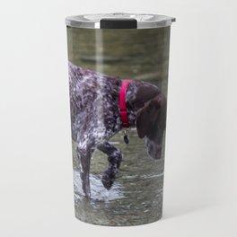 German Shorthaired Pointer Dog Travel Mug