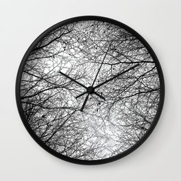 Tree Silhouette Series 5 Wall Clock