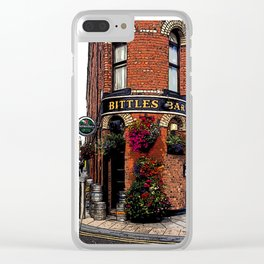 Bittles Bar Clear iPhone Case