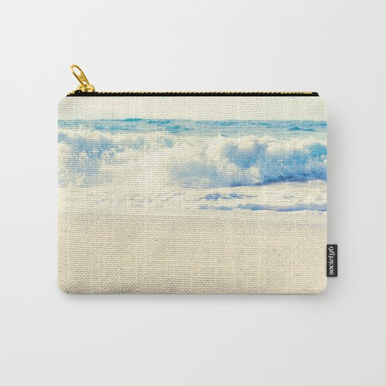 Beach Gold Carry-All Pouch