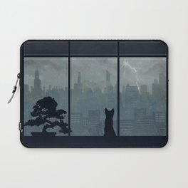 Watching The Storm Laptop Sleeve