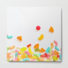 BUNCH OF CANDY I Metal Print