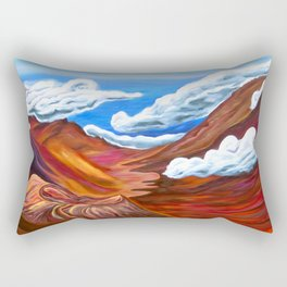 Together At Haleakalā Rectangular Pillow