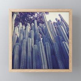 Cactus Wall Framed Mini Art Print
