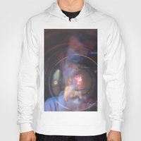 inception Hoodies featuring Camera Inception by Devon Pankiw