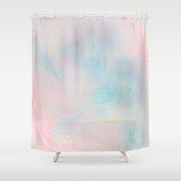 digital love Shower Curtain