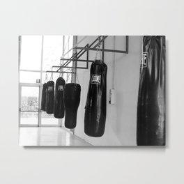 Boxing Metal Print