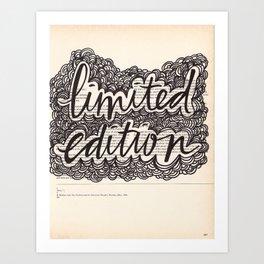 Limited Edition Art Print
