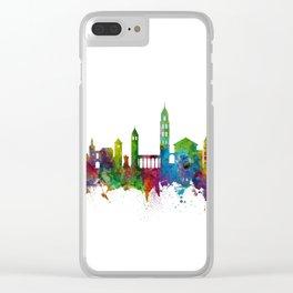 Split Croatia Skyline Clear iPhone Case