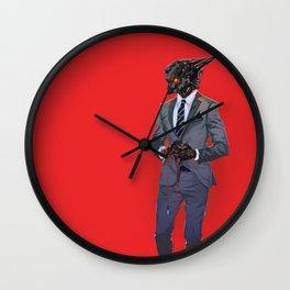 Where are my Headphones? Wall Clock