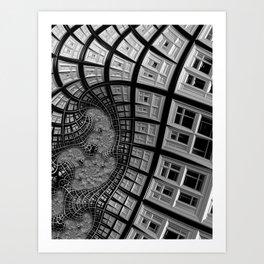 Windows of Perception Art Print