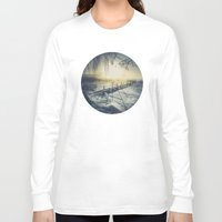 rowing Long Sleeve T-shirts featuring Winter you winter me by HappyMelvin