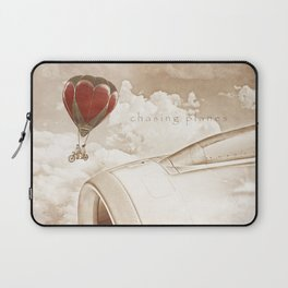 Wednesday Dream - Chasing Planes Laptop Sleeve