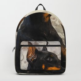 Doberman Pinscher Backpack