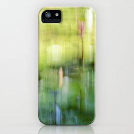 Tropical Impressionism - Lily Pond iPhone Case