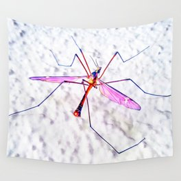 Abstract Mosquito Wall Tapestry