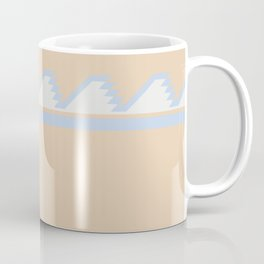 South of the Border Stripe No. 8 in Desert Peach Coffee Mug