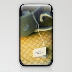 listen to your tea iPhone & iPod Skin